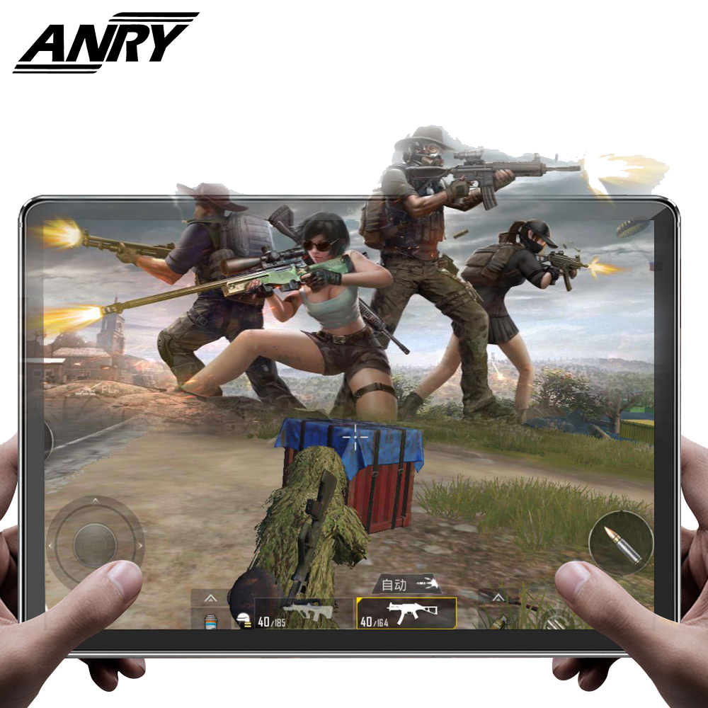 ANRY Game Office Tablet 11.6 Inch 4GB+128GB Deca Core MTK6797T X25 4G Network Phone Call IPS 1920X1080 Dual Camera Type-C Tablet