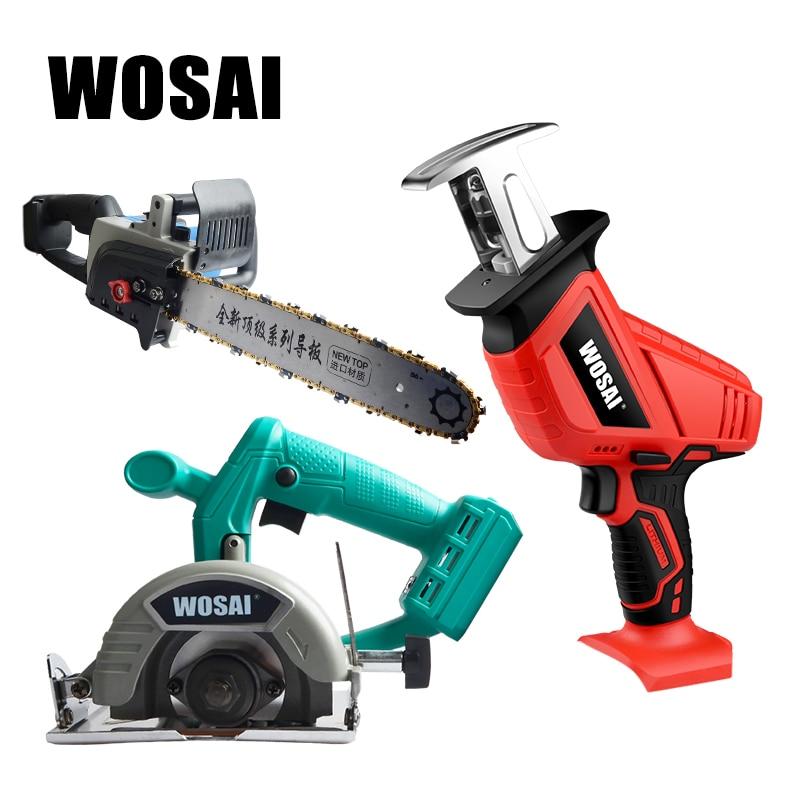 WOSAI Brushless Circular Saw , Cordless Reciprocating Saw, Cordless Chain Saw Power Tools