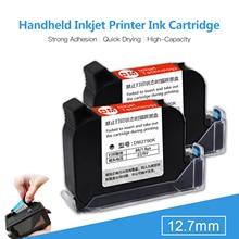 Ink Cartridge Replacement Quick-Drying 45ml for MX3 Handheld Inkjet Printer(Black)
