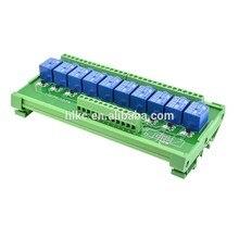 цена на 12 channel 24V 10A Songle Relay Module 12 channel module driver board output amplifier board PLC board delay SRD-24VDC-SL-C