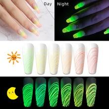 Brushed Gel-Paint Spider-Gel Nail-Art Luminous Decoration Fingernail-Design Colour DIY