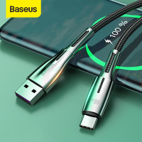 Baseus 66W 6A USB Type C Cable for Huawei Mate 40 Pro Plus Supercharge 40W Fast Charging Cord USB C Charger Cable for Huawei Xiaomi Redmi