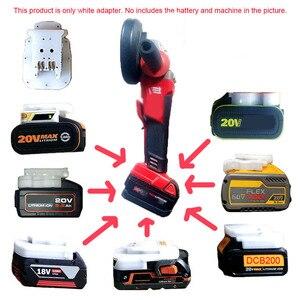 Адаптер преобразователя литий-ионных батарей для инструментов Milwaukee 18 в, для Makita Bosch DeWalt 20 в 60 в AEG RIDGID DEVON Worx