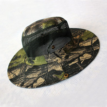 Summer Sun Hat Breathable Hat Camouflage Outdoor Fishing Hats Wide-brimmed Hats Hunting Fishing Outdoor Cap unisex summer sun hat sun protection foldable hat riding cap outdoor hunting fishing cap hat for cycling running daily sports