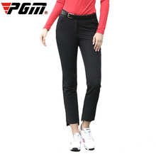 LEGGING Golf-Apparel Women Ladies Summer Red Slim Uniform Cropped