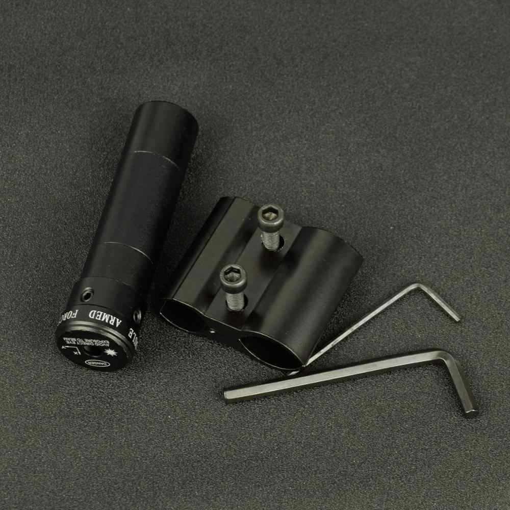 Mira telescópica táctica láser de punto rojo con montura para pistola Picatinny Rail y Rifle Airsoft para caza óptica de tiro