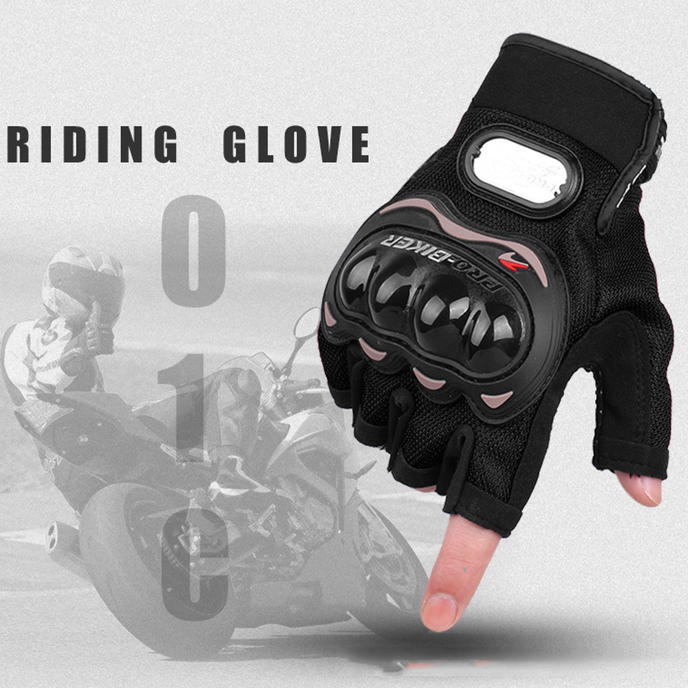 1 par de guantes de motocicleta antideslizantes duros nudillos medio dedo guantes de equipo de protección motociclista de competición guantes de Motocross Para YAMAHA YZF R15 V3.0 2017 2018 delantero de la motocicleta carenado aerodinámico de paletas de plástico ABS protección guardias de fibra de carbono