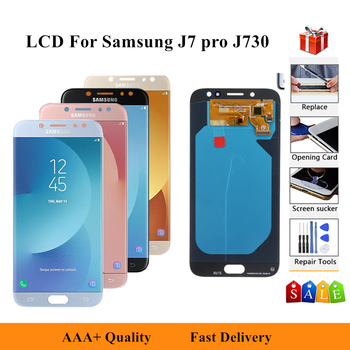 5.5'' For Samsung Galaxy J7 Pro 2017 J730 SM-J730F J730FM/DS J730F/DS J730GM/DS LCD Display Touch Screen Digitizer Assembly image