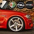4 шт. автомобиля Эмблема центра колеса узел значок Стикеры для BMW, Возраст 1, 2, 3, 4, 5, 6, 7, серия X1 X3 X4 X5 X6 325 328 F30 F35 F10 F18 GT E36 E38
