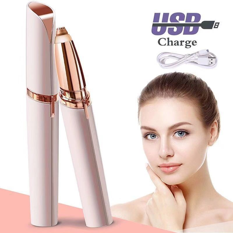 Epilator Eyebrow-Shaver Hair-Remover Painless Electric-Face-Brows NEW HOT Mini USB Instant