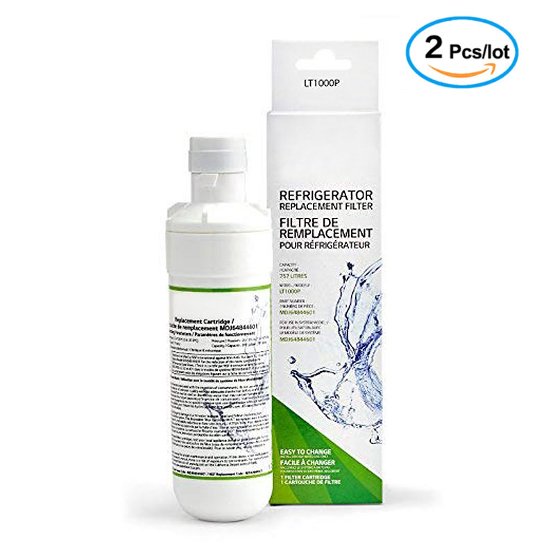LT1000P Refrigerator Water Filter Replacement Leak-Proof Compatible with LG LT1000P, LT1000PC,   Kenmore 46-9980, 9980  2 Pack