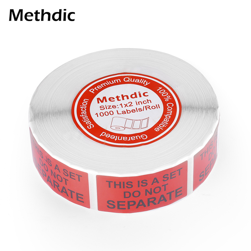 1 X 2' 1000 Sticker/ Roll Fragile Warning Sticker Scratch Off Care Warning Label