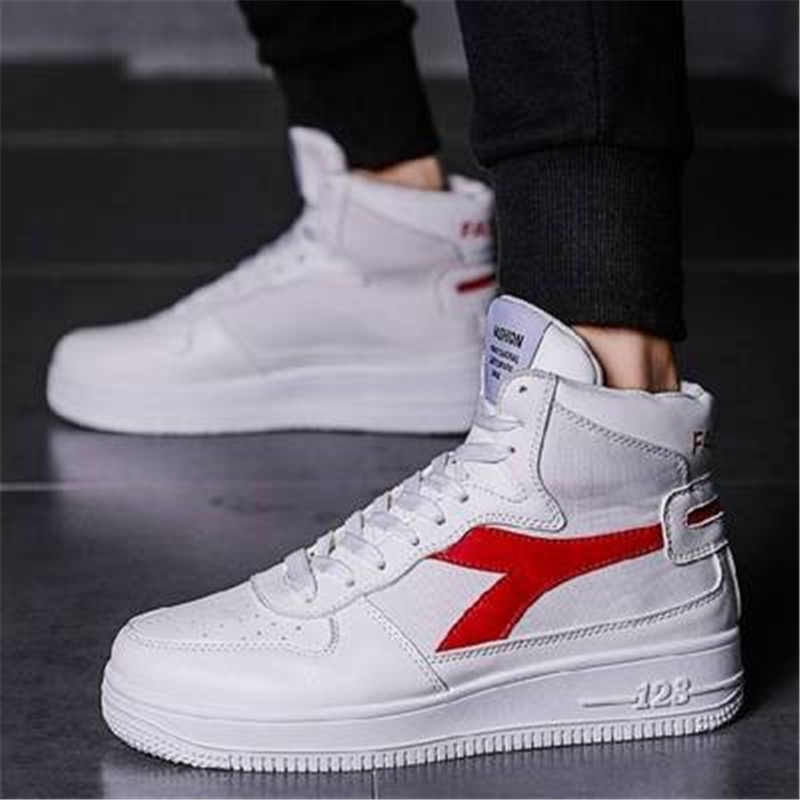 Shoes Sneakers Vulcanized-Shoes High-Top Casual Non-Slip Masculino Trend Comfortable