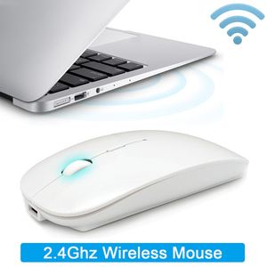 Image 5 - Bluetooth Silent Wireless Mouse Rechargeable Built in Battery 2.4Ghz USB Computer Mause for PC Laptop
