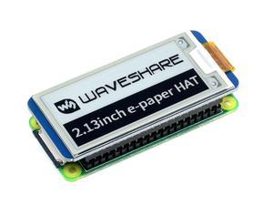Image 3 - Waveshare chapeau daffichage e ink, 2.13 pouces, pour Raspberry Pi, résolution 250x122, e paper SPI, prend en charge une rafraîchissement partiel Version 2