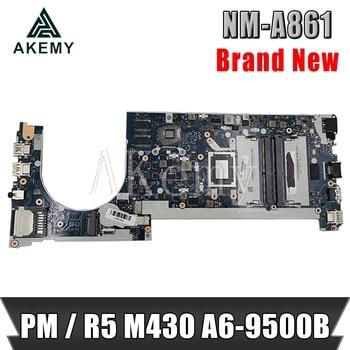 SAMXINNO NM-A861 Motherboard For Lenovo ThinkPad CE475 E475 Laotop Mainboard with R5-M430 GPU A6-9500B CPU