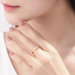 Image 4 - XXX 24K Gold Ring Pure Real Pattern Exquisite Fine Jewelry Resizable Design Fashion Female New Hot Sale 999 Trendy Party Women