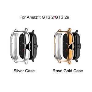 Image 4 - Watchband Case For Xiaomi Amazfit GTS 2 Mini Bip U Pro S Lite Strap Touch Screen Protector Milanese Stainless Steel Wristband