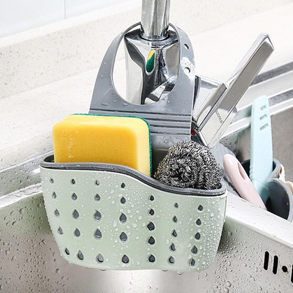 2pcs Holder Card slot Convenient Home Kitchen Holder Tools Sponge Gadget Decor