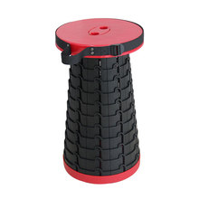 Portable Telescoping Stool Holds up 440 Lbs Lightweight Retractable Folding Stools Seat Plastic Stool for Outdoor Fishing Hiking