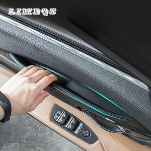 Image 1 - Samochód wewnętrzna klamka do drzwi s dla F01 F02 LHD RHD BMW 7 seria wysokiej jakości drzwi wnętrze samochodu lewy prawy klamka do drzwi lepsza wymiana