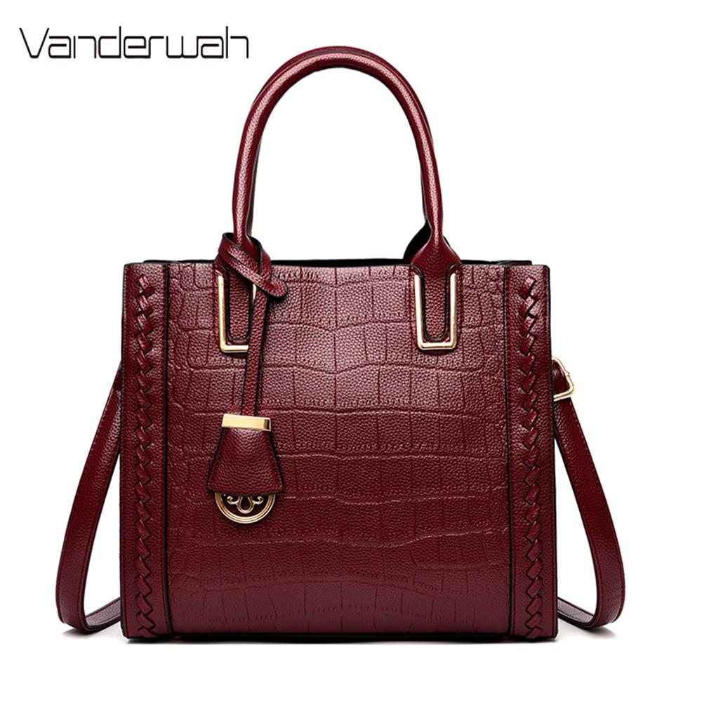 Casual Leather Shoulder Bag High Capacity Handbags Crossbody Bags for Women 2020 Luxury Handbags Women Bags Designer Sac A Dos