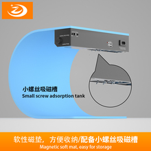 Professionale LCD Macchina Separata Schermo Strumenti di Riparazione Aperto Con Lampada di Rilevamento Della Polvere Per Il Iphone Ipad Samsung Tablet Del Telefono Mobile