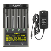 HK LiitoKala Lii 100 B 18650 Cargador de Batería Para 26650 16340 CR123 LiFePO4 1.2 V Ni MH Ni cd Rechareable de Batería (no 5 V de salida)