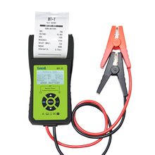 Lancol BT-T Batterij Tester Auto Batterijen Gereedschap Meten Met Printer Meertalige Automotive Power System Diagnostic Meter