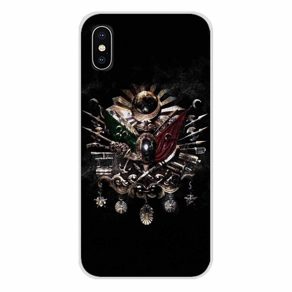 Для samsung Galaxy S3 S4 S5 мини S6 S7 край S8 S9 S10 Lite Plus Note 4 5 8 9 чехол из термопластичного полиуретана, Турция, турецкий, османский Имперское пальто оружия