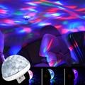 Потолочный светильник для автомобиля, светодиодная лампа в виде звезды на крыше, для создания атмосферы, неоновые лампы, портативные аксесс...