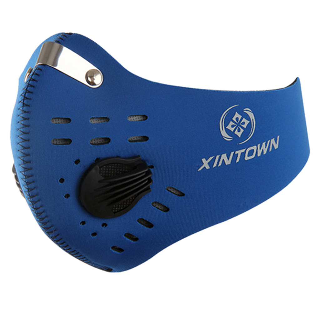 Shipping to USA Cycling Cycle Dust Filter Sports Running Reusable Anti Pollution Face Mouth Filter Activated Innrech Market.com