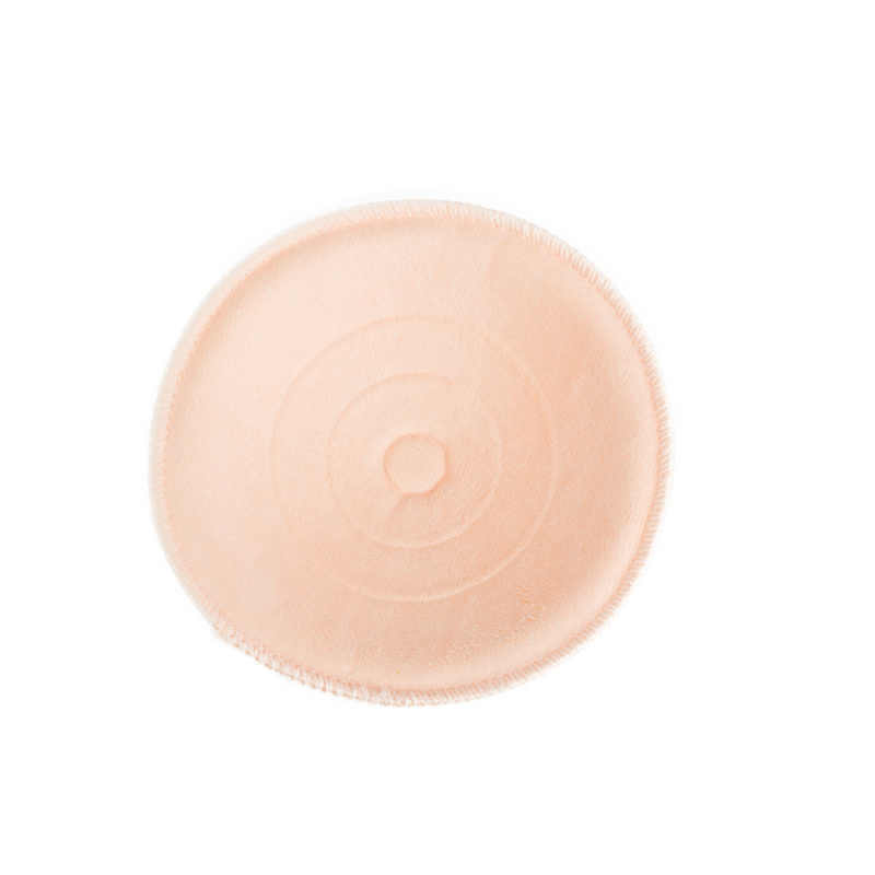 1 box = 12 pieces 코튼 + 위생 스폰지 유방 패드 재사용 간호 패드 3d 컵 빨 패드 아기 모유 수유 액세서리