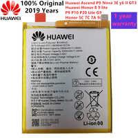 2019 100% original réel 3000mAh HB366481ECW pour Huawei p9/p9 lite/honour 8/p10 lite/y6 II/p8 lite 2017/p20 lite/p9lite batterie