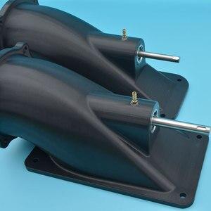 Image 4 - איכות טובה שחור 100mm סילון מים מרפק עם 10mm נירוסטה פיר עבור סירת גלשן Rc דגם סירה