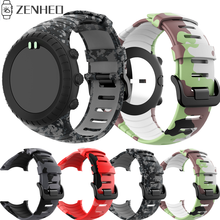 Silicone Watch Strap For Suunto Core Watchband Outdoors Sports Smart Watch Replacement Bracelet Wristband for Suunto Core