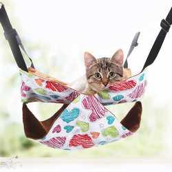 Гамак для кошки холст Four Seasons универсальный стирка в стиральной машине кошка гнездо кошка гамак удобные кошка кровать любимчика полки