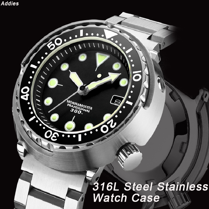 NH35 Mechanical Wristwatch 300m Dive Watch Mechanical Steel Stainless Case Sapphire Glass Automatic Watch Steel Diving - 2