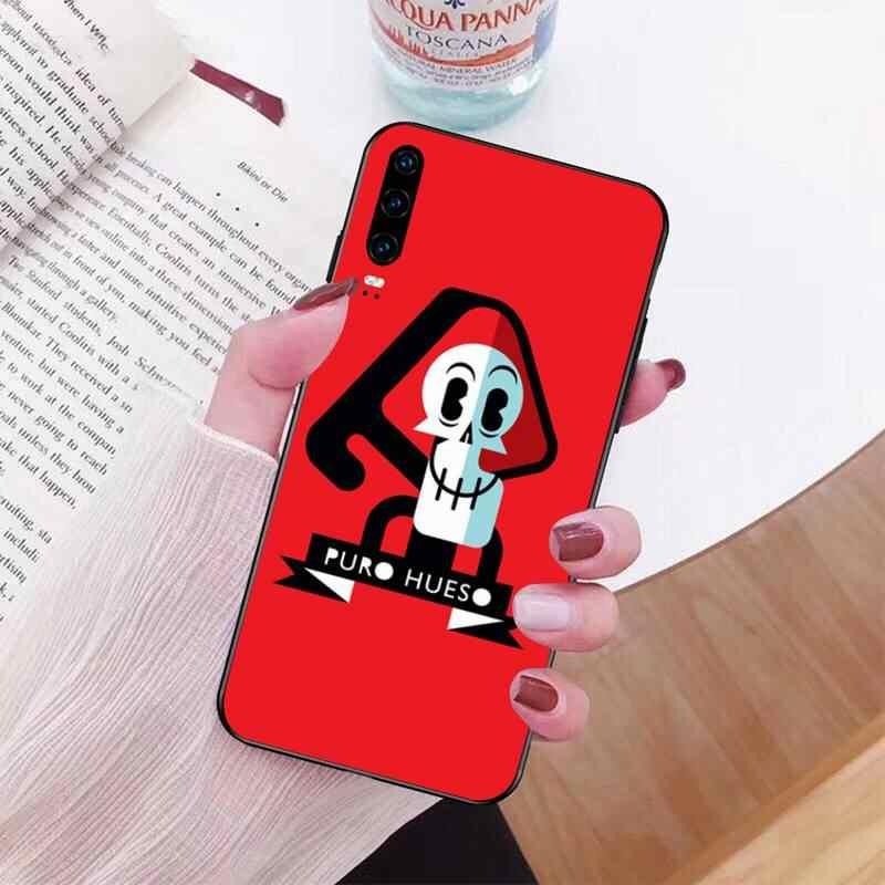 PENGHUWAN Billy Mandy TPU ปกคลุมกรณีโทรศัพท์สีดำคิงส์ตันอะพอนฮัลล์สำหรับ Huawei Honor 20 10 9 8 8X 8C 9x 7C 7A Lite ดู Pro