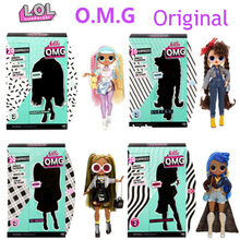 Кукла сюрприз Lol, модная Оригинальная кукла второго поколения OMG, имитация слепой коробки, игрушки для девочек на день рождения для детей