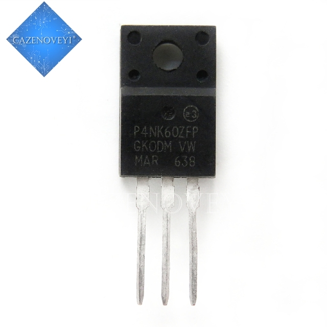 10pcs/lot STP4NK60ZFP P4NK60ZFP 4N60 TO 220F In Stock