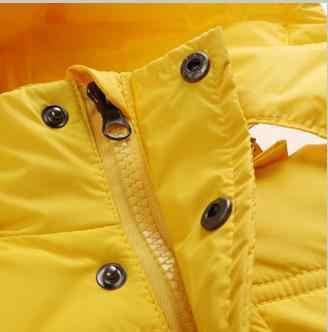 OLEKID 2019 Kış Çocuk Erkek Aşağı Ceket Beyaz Ördek Aşağı Çocuklar Bebek Kız Giyim 1-7 Yıl Erkek Ceket casacos De Inverno