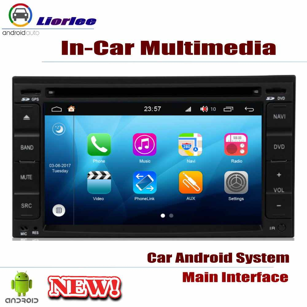 Auto DVD Player ระบบนำทาง GPS สำหรับ Hyundai Tiburon 2001 ~ 2008 รถ Android ระบบมัลติมีเดีย HD วิทยุสเตอริโอหน่วย