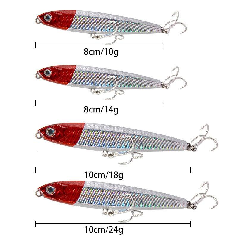 Pencil Sinking Fishing Lure Saltwater   5