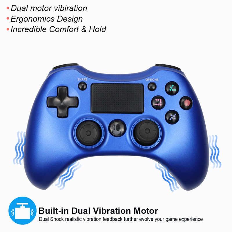 Nirkabel Bluetooth Gamepad untuk PS4 Controller untuk PlayStation DualShock 4 Remote Controler untuk PC PS4 PS3 Android TV Box Gamepad