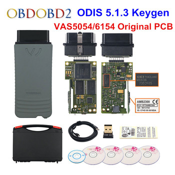 Original VAS5054 OKI Keygen VAS5054A Bluetooth AMB2300 ODIS V5.1.3 pour V/AUDI/SKODA/siège VAS 5054A VAS6154 WIFI UDS pour VAG
