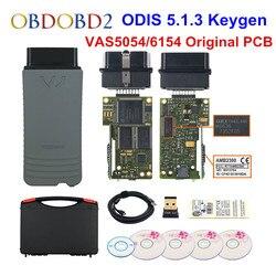 Оригинальный VAS5054 OKI Keygen VAS5054A Bluetooth AMB2300 ODIS V5.1.3 для V/AUDI/SKODA/SEAT VAS 5054A VAS6154 wifi UDS для VAG