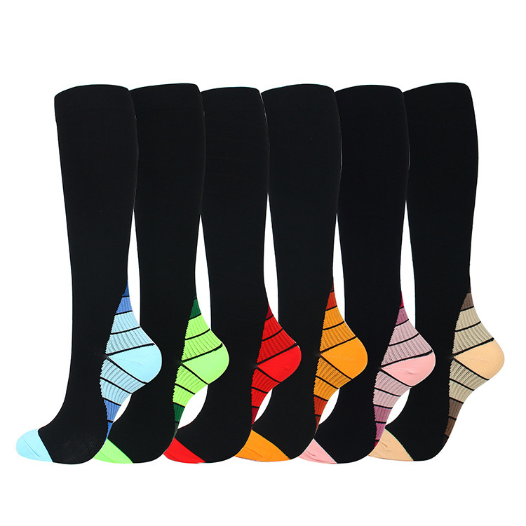 Quality Men Compression Socks Combed Cotton Colorful Happy Funny Sock Hot Sale Fashion Casual Long Men Compression Socks