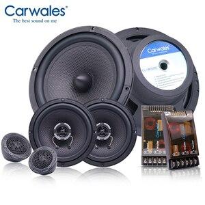 Kit de haut-parleurs coaxiaux 6.5 pouces | Combinaison pleine fréquence de 6.5 pouces avec tweets, système de son Audio pour voiture, refl, ensemble de haut-parleurs HIFI de pouces