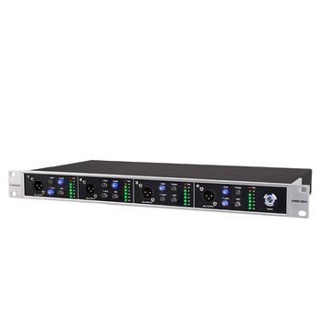 Alctron PRO DI4 4-kanał active DI box używany w studio lub występów na scenie specjalnie zaprojektowany aby konwertuje wysokiego-Z do niskiej Z tanie i dobre opinie UKINGMEI Miksery Pakiet 1